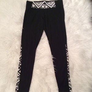 Pants - Black PINK Victoria Secret  Yoga leggings.